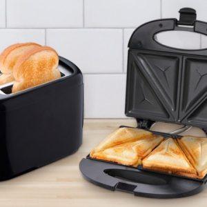 Sandwichera y tostador